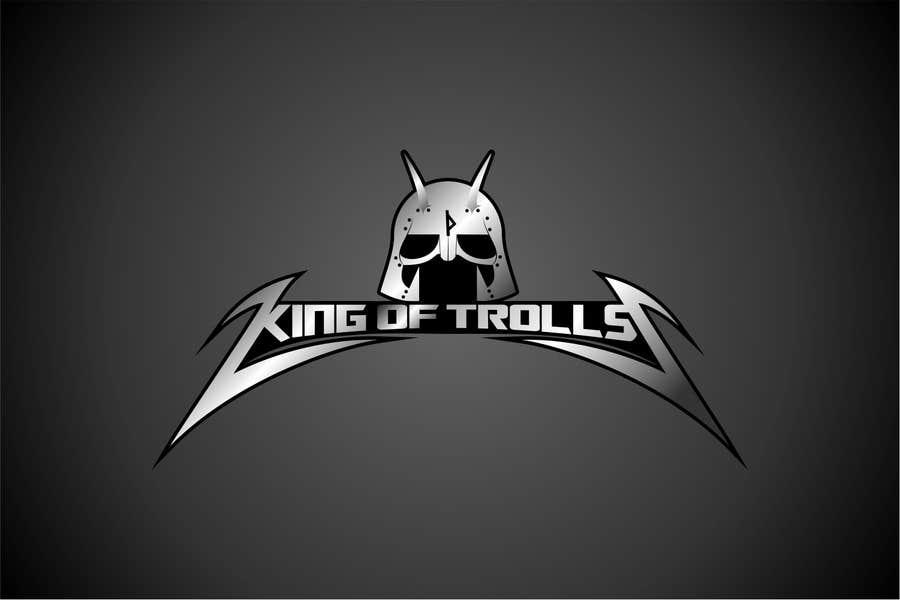Konkurrenceindlæg #                                        40                                      for                                         Design en logo for the band:  King of Trolls