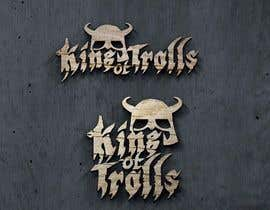#39 for Design en logo for the band:  King of Trolls by muhhusniaziz