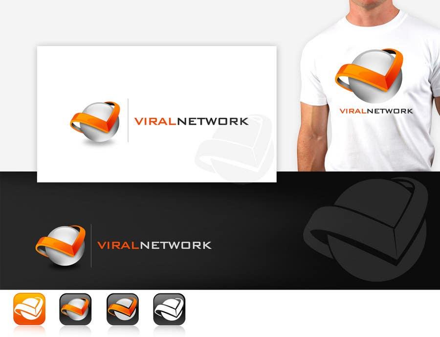 Participación en el concurso Nro.                                        157                                      para                                         Logo Design for Viral Network Inc - Banner design, Graphic design, Social Button Design