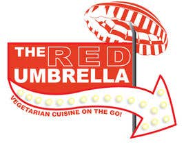 #36 for Design a Logo for The Red Umbrella - A Vegetarian Food Truck af djrogersdesign