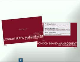downtowndotcom tarafından Business Card Design for London Brand Management için no 48