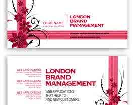 #40 per Business Card Design for London Brand Management da sreekanthize