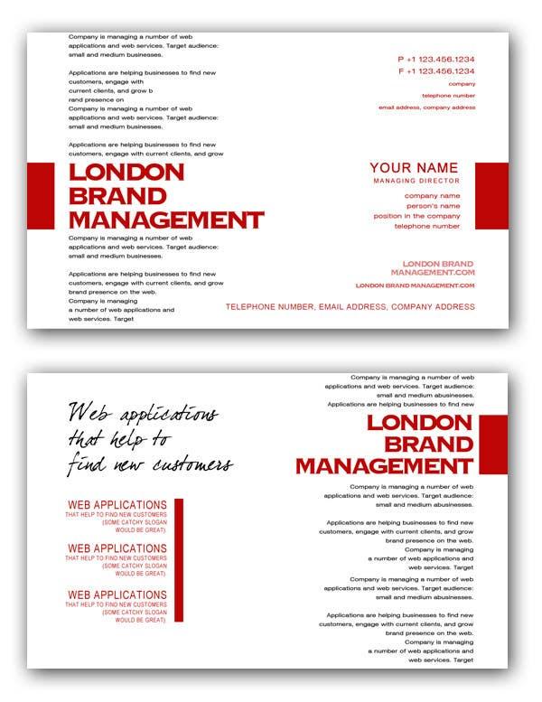 Participación en el concurso Nro.                                        45                                      para                                         Business Card Design for London Brand Management
