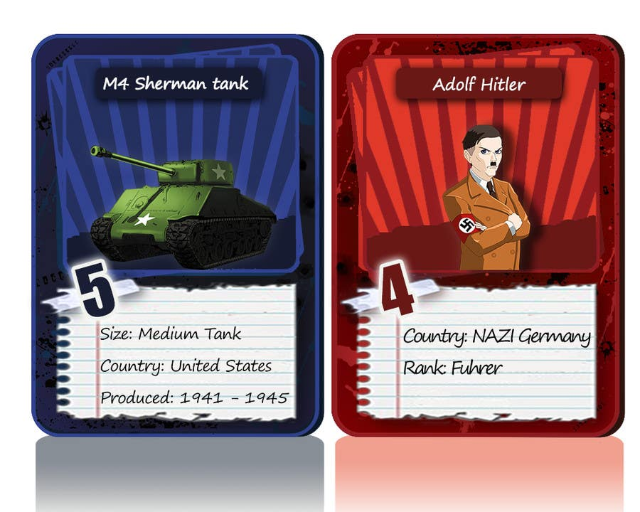 Contest Entry #                                        38                                      for                                         Trading Card Game Template Design