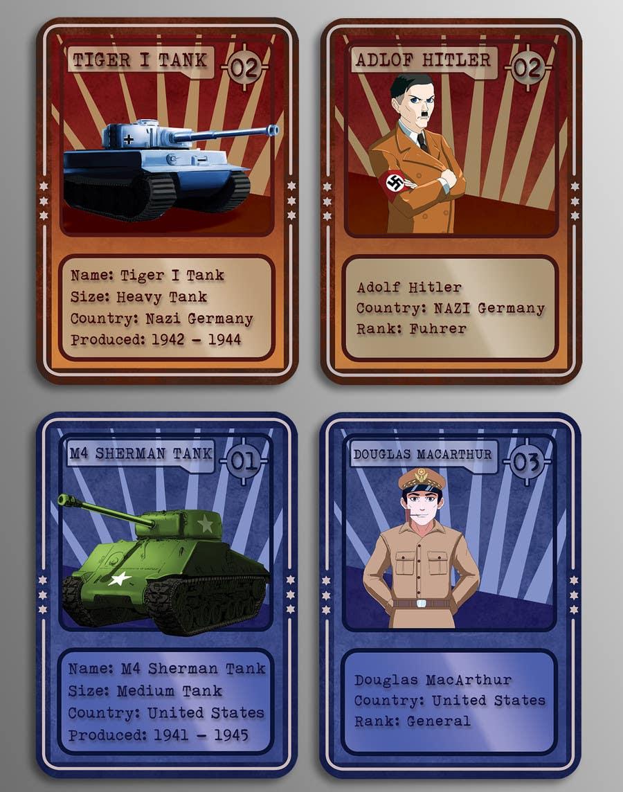 Konkurrenceindlæg #                                        36                                      for                                         Trading Card Game Template Design