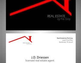nº 8 pour Design a Creative Business Card for Realtor par lucihusky