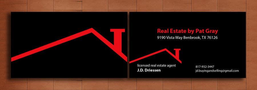 Bài tham dự cuộc thi #                                        37                                      cho                                         Design a Creative Business Card for Realtor