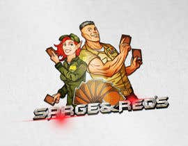 #124 for Design a Logo for Sarge and Red's Games and Hobby Shop af vminh