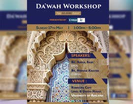 "nº 30 pour ""Da'wah Workshop"" - Islamic Flyer par HebaWadud"