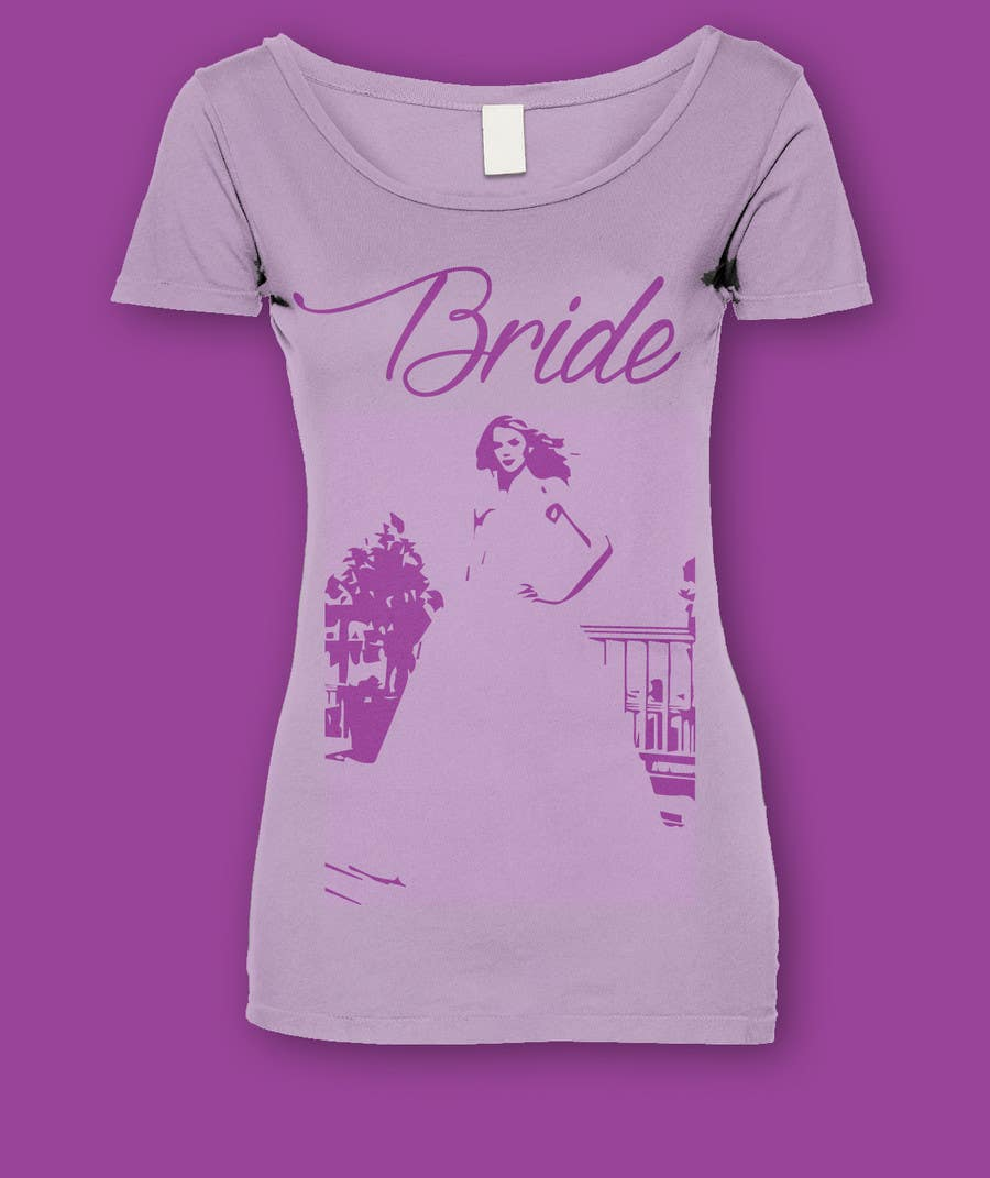 Konkurrenceindlæg #                                        7                                      for                                         Design eines T-Shirts for a bride and a bridegroom to be