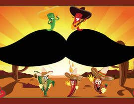 nº 43 pour Draw The moustache! The crazy mexican contest! par alice1012