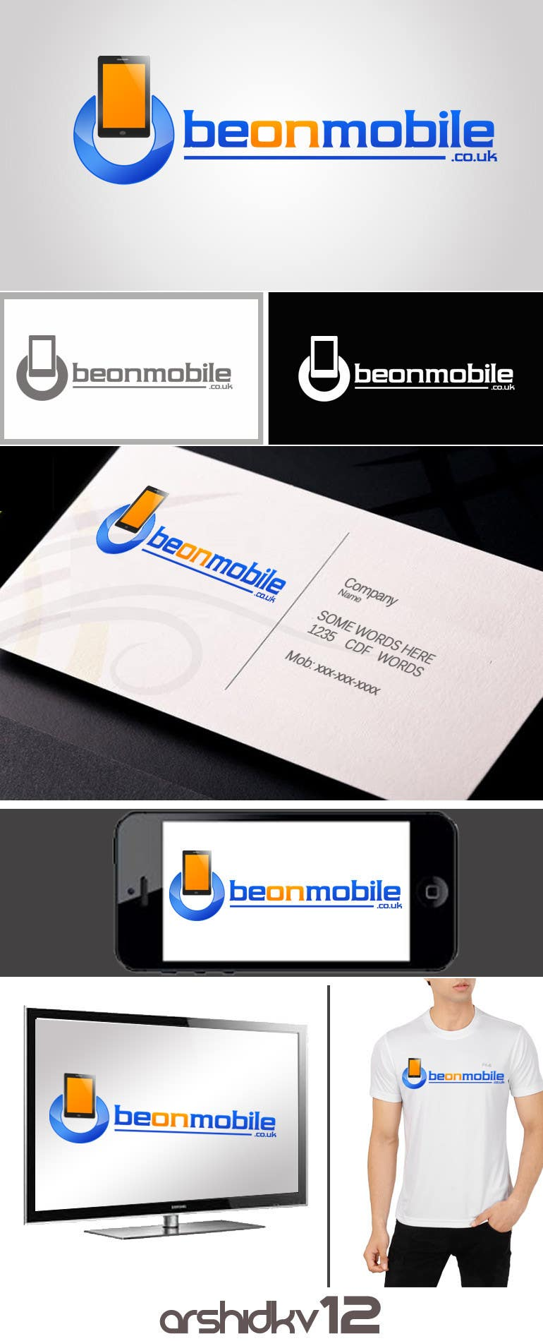 Proposition n°46 du concours Logo for BeOnMobile and/or convertta.com