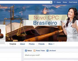 #16 for Design a Facebook cover for Novo CPC Brasileiro af silvi86