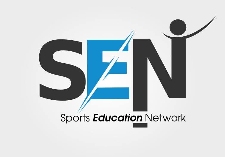 "Bài tham dự cuộc thi #                                        52                                      cho                                         Design a Logo for company name ""Sports Education Network"", in short SEN."
