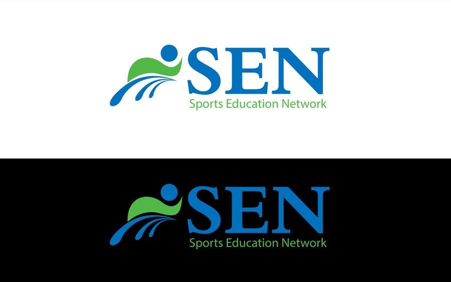 "Bài tham dự cuộc thi #                                        50                                      cho                                         Design a Logo for company name ""Sports Education Network"", in short SEN."