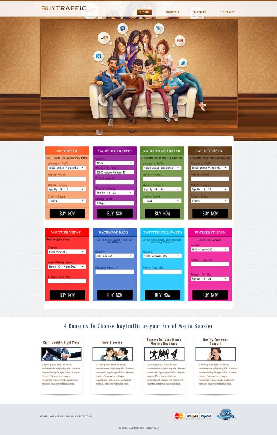 Inscrição nº                                         3                                      do Concurso para                                         Design a Website Mockup for my site