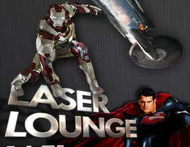 #34 para Design a Flyer for DVD Rental named LASER LOUNGE por matt3214