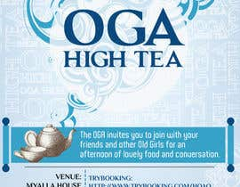 nº 24 pour High Tea Invitation par kunjanpradeep