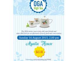 Nro 15 kilpailuun High Tea Invitation käyttäjältä ngahoang