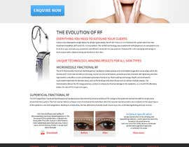 nº 15 pour Build a Website for a new revolutionary cosmetic treatment par tania06