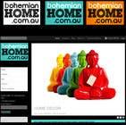 Graphic Design Конкурсная работа №92 для LOGO design for www.bohemianhome.com.au
