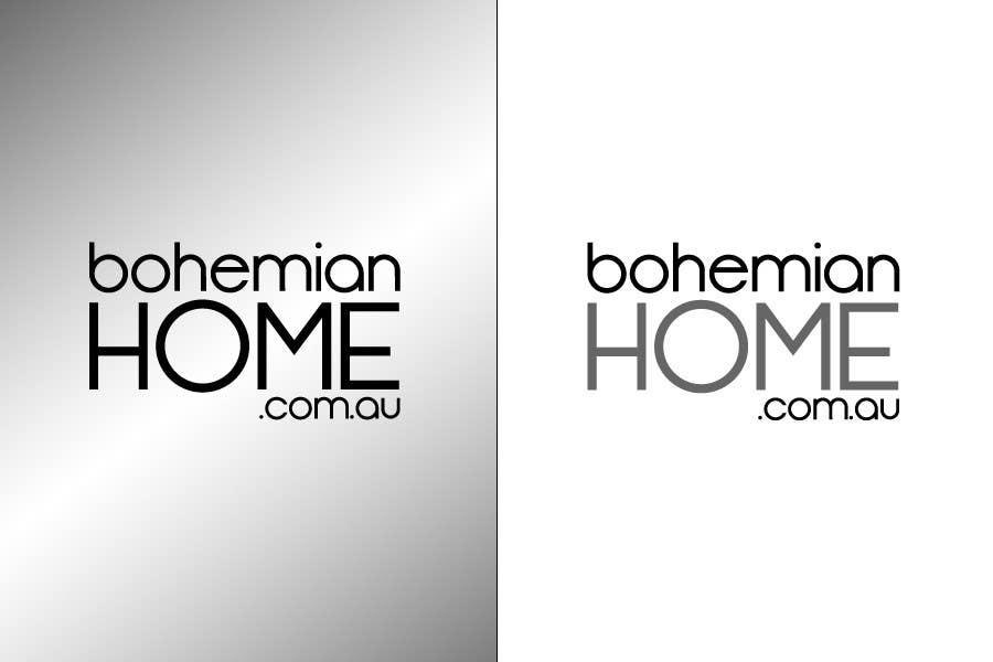 Proposition n°                                        69                                      du concours                                         LOGO design for www.bohemianhome.com.au