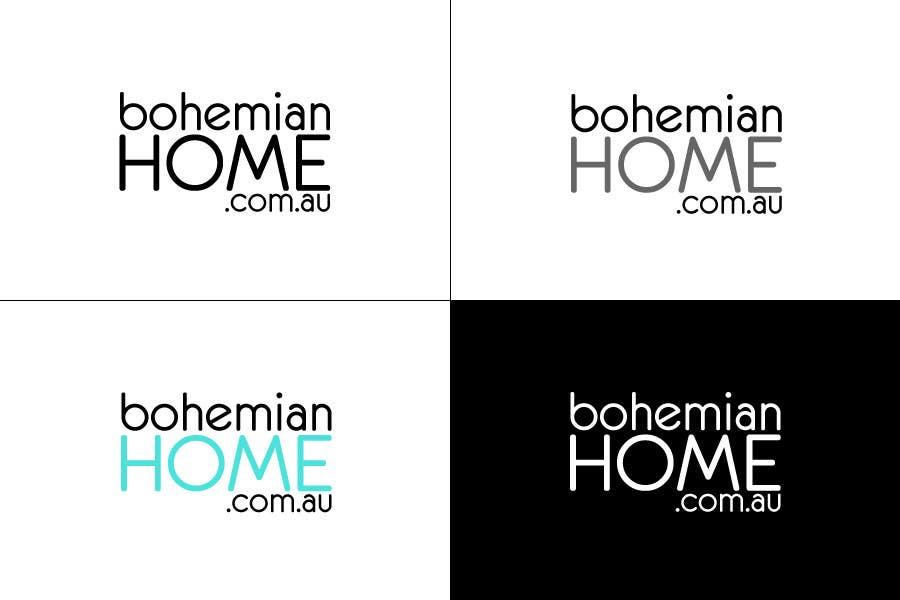 Proposition n°                                        72                                      du concours                                         LOGO design for www.bohemianhome.com.au