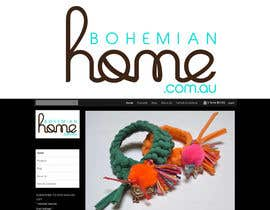 #173 för LOGO design for www.bohemianhome.com.au av dyeth