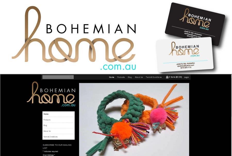 Contest Entry #                                        171                                      for                                         LOGO design for www.bohemianhome.com.au