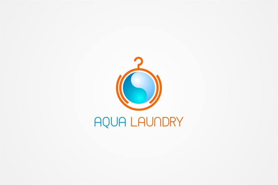 Contest Entry #                                        5                                      for                                         Design a Logo for AQUA LAUNDRY & DRY CLEANING