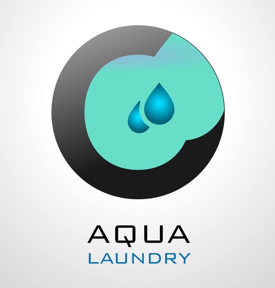 Konkurrenceindlæg #                                        30                                      for                                         Design a Logo for AQUA LAUNDRY & DRY CLEANING