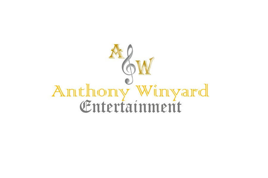 Konkurrenceindlæg #                                        8                                      for                                         Graphic Design- Company logo for Anthony Winyard Entertainment