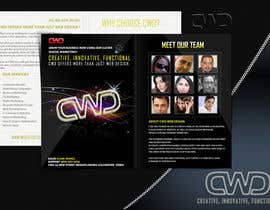 #7 for Design a Brochure for a website company by marwenos002