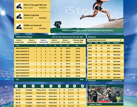 #8 for Re-Create Standings Page for Sports Site by rginfosystems