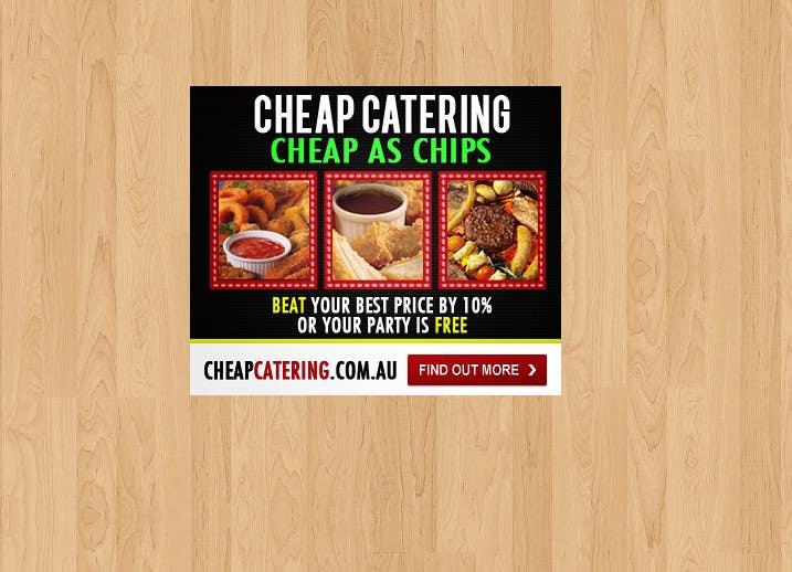 Inscrição nº 9 do Concurso para Design a Banner for cheapcatering.com.au
