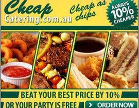 #19 for Design a Banner for cheapcatering.com.au by Berbatov