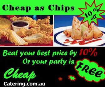 Inscrição nº 15 do Concurso para Design a Banner for cheapcatering.com.au