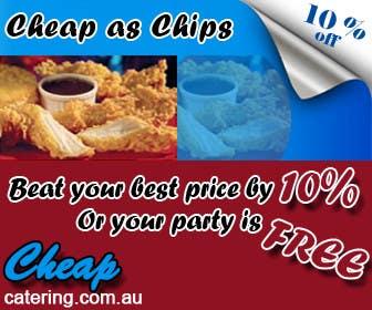 Inscrição nº 16 do Concurso para Design a Banner for cheapcatering.com.au