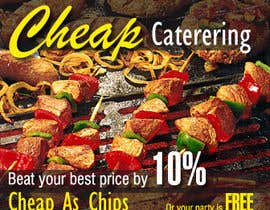 #23 for Design a Banner for cheapcatering.com.au by lineados