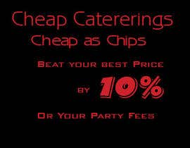 nº 8 pour Design a Banner for cheapcatering.com.au par baggamaan