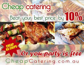 #22 for Design a Banner for cheapcatering.com.au by TmGraph