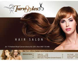 #12 para Design a Flyer for Hair Salon por lasiktacd