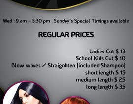 #5 untuk Design a Flyer for Hair Salon oleh Daiichirou