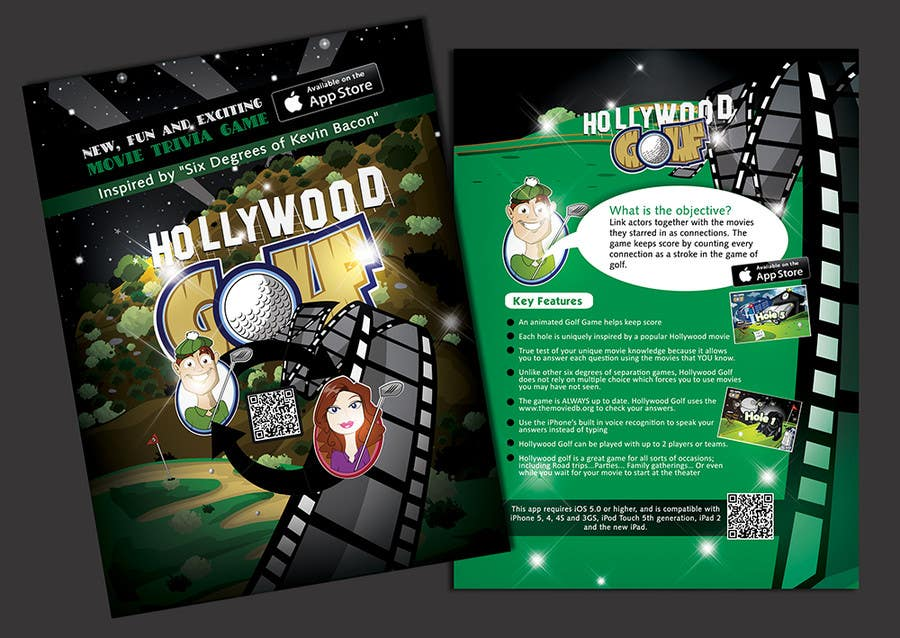 Contest Entry #14 for Design a Flyer for an iPhone Game
