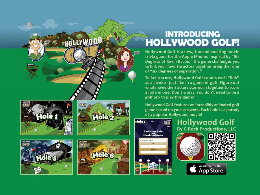 Flyer Design Contest Entry #12 for Design a Flyer for an iPhone Game