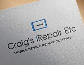 nº 24 pour Design a Logo for a Mobile Device Repair Company par DamirPaul