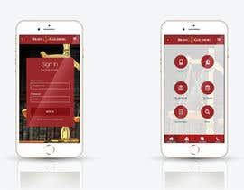 nº 21 pour Design an App Mockup for Lawyer App par leandeganos