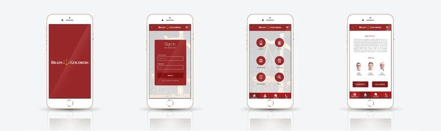 Konkurrenceindlæg #                                        22                                      for                                         Design an App Mockup for Lawyer App