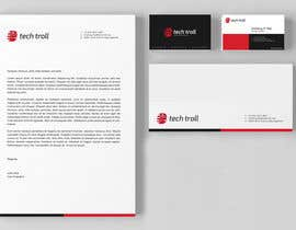 #29 para Design a stationery for IT Company (Logo Provided) por graphstas
