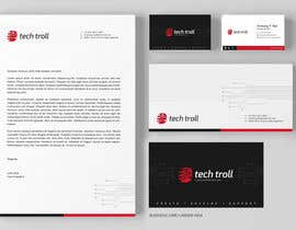 #51 for Design a stationery for IT Company (Logo Provided) af graphstas